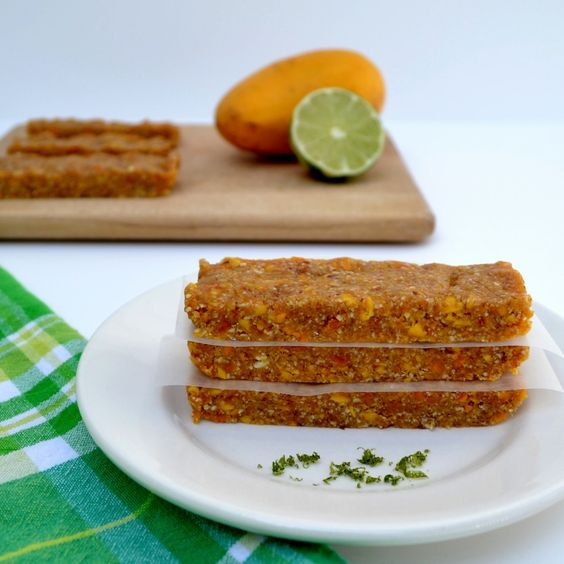 Mango Lime Coconut Larabars from Real Food Real Deals