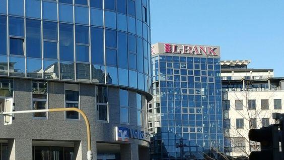 Bankenviertel in Stuttgart