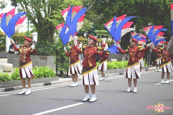 Parade Polisi Wanita