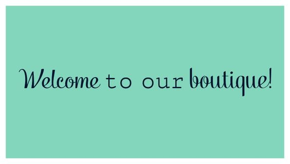 Welcome to our boutique!! We are two sisters who are very close and share a love for fashion! We offer a variety of clothing that is fun , fashionable and for every occasion. We hope your enjoy our boutique and continue to shop with us! Thanks for all the support!