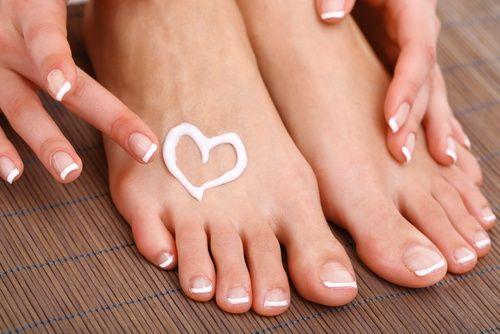 Fußpflege mit Aspirin