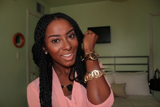 Styles To Do With Senegalese Twists | You've asked me what they were-- Senegalese Twists !