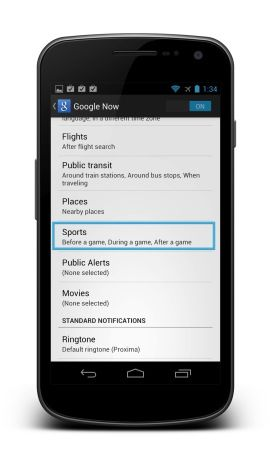 How to add your favorite sports teams to Google Now...now! http://cnet.co/O78j5W