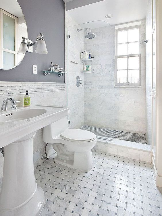 Bathroom walls - I like how much more character and dimension this ...