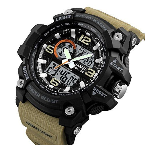 Buy Online Skmei Analogue Digital Sport Black Dial Watch For Men S Boys Watches Watchesformen Manswatch Mens Sport Watches Watches For Men Sport Watches