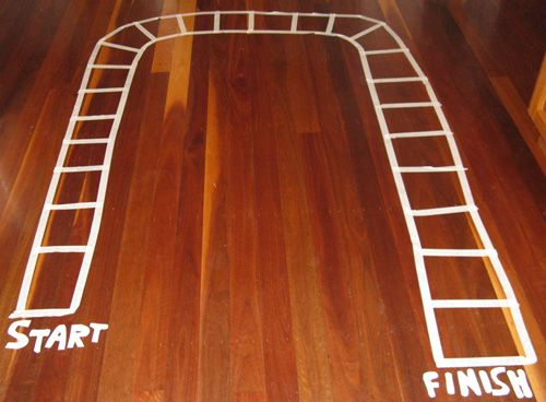 This Melbourne Cup Horse-Race game is so easy to make and fun to play | Golden Carers