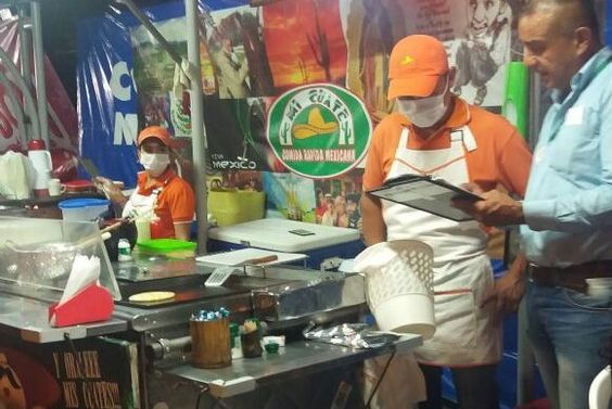 Secretaría de Salud continúa con operativos a ventas estacionarias y ambulantes de alimentos