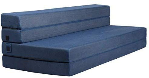 Amazon Com Milliard Tri Fold Foam Folding Mattress And Sofa Bed