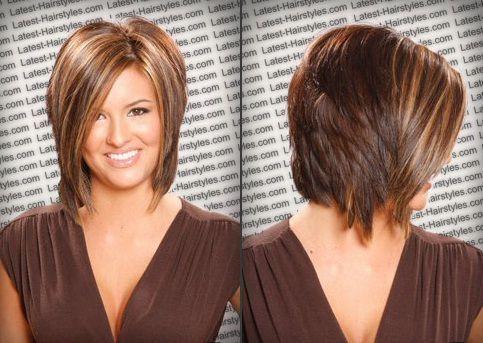 Superb Inverted Medium Bob With Back View Hair Pinterest Medium Short Hairstyles Gunalazisus