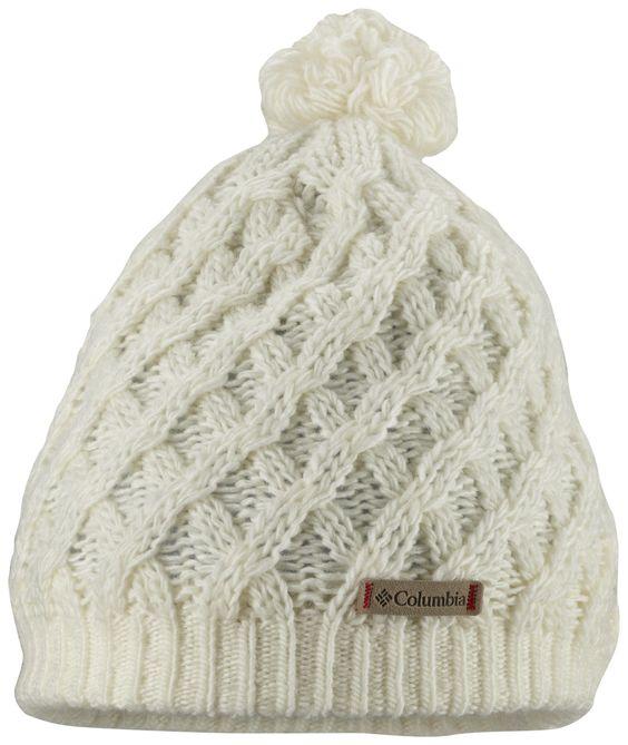 COLUMBIA W Alpine Beauty - Women: Das weiche Wolle-/Acrylgemisch mit dickem Microfleece-Futter hält den Frauenkopf auch bei Eiseskälte wohlig warm. Der Strickmusterstil und der Bommel machen die Mütze zum stilvollen Accessoire. Preis: 24,95 Euro