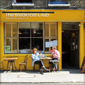 THE BREAKFAST CLUB, SOHO - Read up on all of our favourite London brunch spots, here: http://londonliving.at/top-5-london-breakfast-spots/