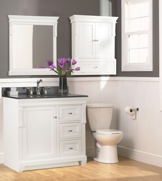 The naples vanity from foremost international in a for International decor bathrooms