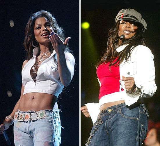 janet jackson weight loss routine