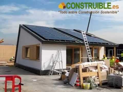 CONSTRUIBLE: Montaje Villa Solar Decthlon Europe 2012 Madrid