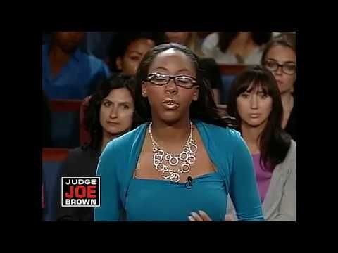 Judge Joe Brown  Loud mouth aunt gets thrown out