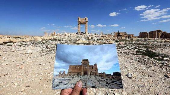Así ha quedado la ciudad de Palmira tras el paso de Estado Islámico