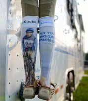 Gina Miles Go Sock  Price : $19.99 http://www.equinenetworkstore.com/Go-Socks-Gina-Miles-Sock/dp/B0182Y04WO