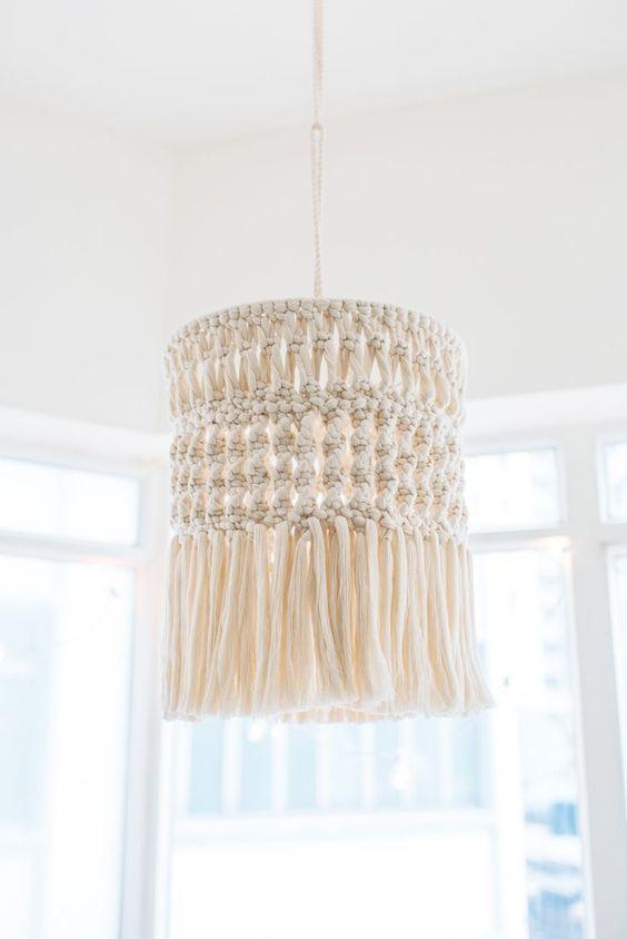 Make This Gorgeous DIY Macramé Chandelier!