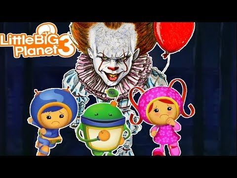 Team Umizoomi Roblox Team Umizoomi Creepy Clown Littlebigplanet3 Youtube Creepy Clown Team Umizoomi Little Big Planet