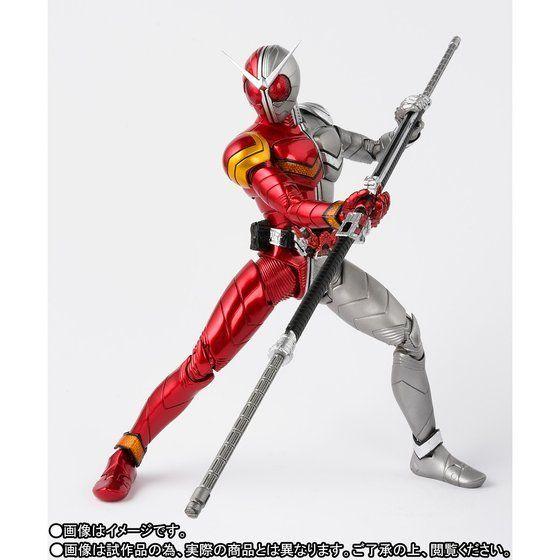 S.H Figuarts Kamen Rider W Double heat metal