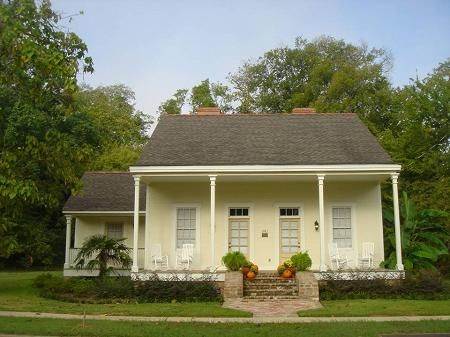 Creole Cottage Cottages And Louisiana On Pinterest