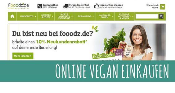 Fooodz – ein neuer veganer Onlineshop