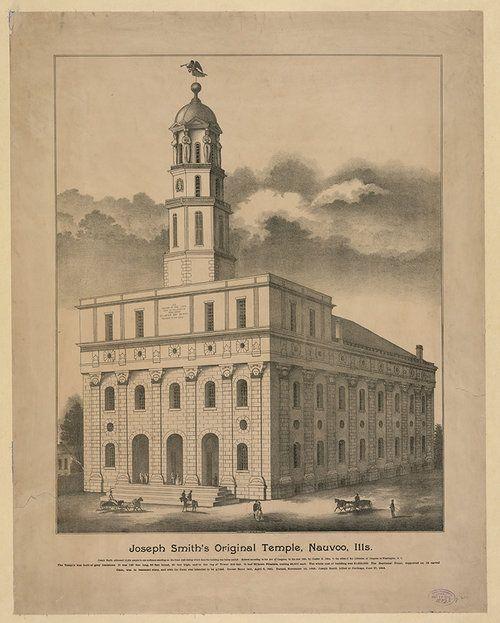 Joseph Smith LDS Mormon Prints Nauvoo Art