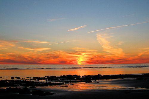 Bartlett Beach Sunset, Yarmouth, Nova Scotia