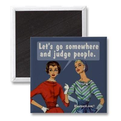 judging is an art