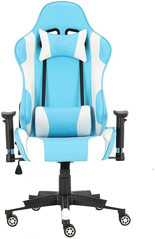 Kmcmybang E Sports Chair Office Chair Leather Executive Pc Gaming Chair Computer Desk Chair Swivel Rolling Lumbar S In 2020 Pc Gaming Chair Gaming Chair Computer Chair