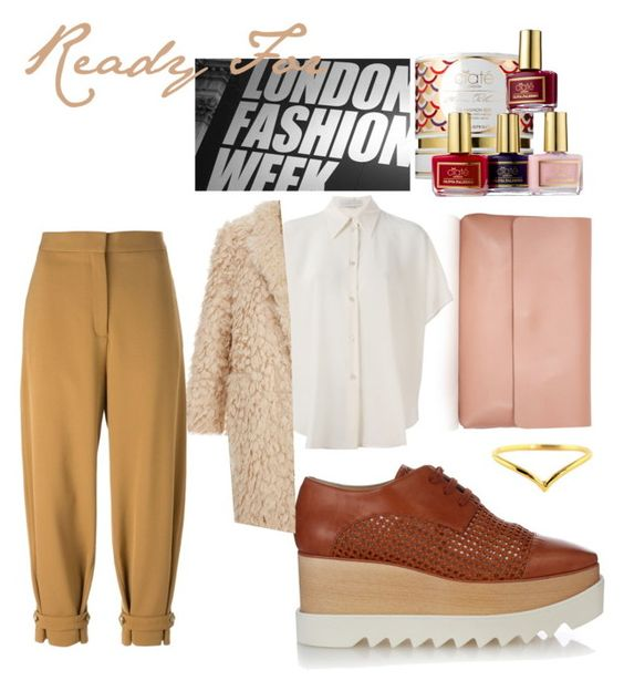 """""""Ready For London Fashion Week"""" by luditrend on Polyvore featuring Topshop, STELLA McCARTNEY, Elizabeth and James, Wanderlust + Co, Ciaté, Jacqueline Cullen, women's clothing, women, female and woman"""