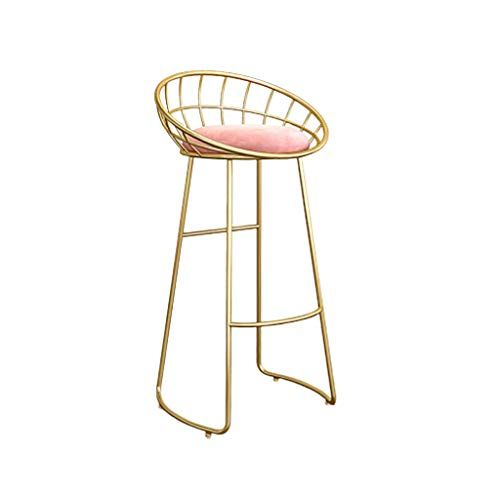Pub Chair Bistro Barstools Dining Chairs Bar Counter Stool For Kitchen Cafe With Footrest And Backrest Metal Frame Seat He Pub Chairs Bar Stools Counter Stools