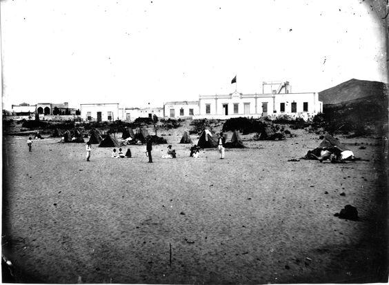 La Puntilla en 1890... esta foto es de las buenas...
