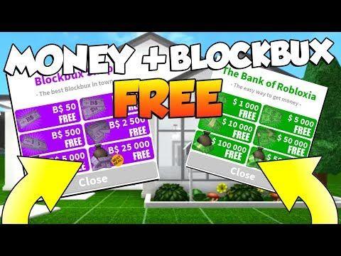 How To Get Money Blockbux Free Legit In Roblox Bloxburg Youtube How To Get Money Youtube Social Media