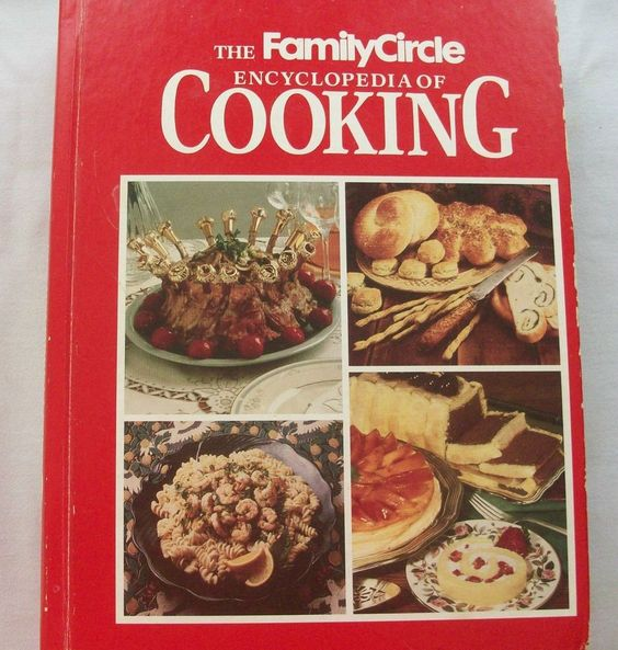 $3.00 Family Circle Encyclopedia of Cooking 1990 HC (6815-1062) cookbooks, reference