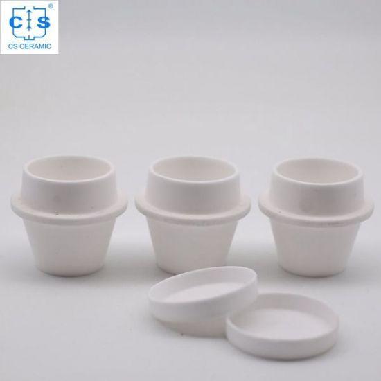Large Tga Ceramic Crucible 529 047 621 331 20cc Alpha Ar9047 For Leco 701 Manufacturer Ceramics Crucible Tga