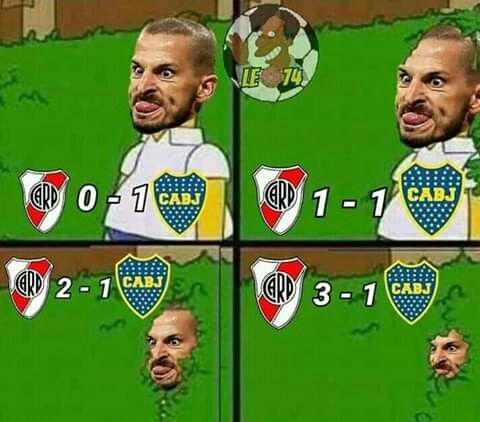 Pin De Ludmila En River Plate Cargadas A Boca Cartas De Futbol Memes Para Boca
