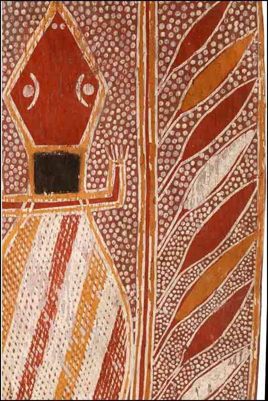 Milingimbi Arnhemland Bark Painting