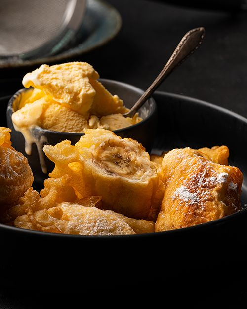 mama noi s banana fritters marion s kitchen recipe banana fritters fritters food mama noi s banana fritters marion s