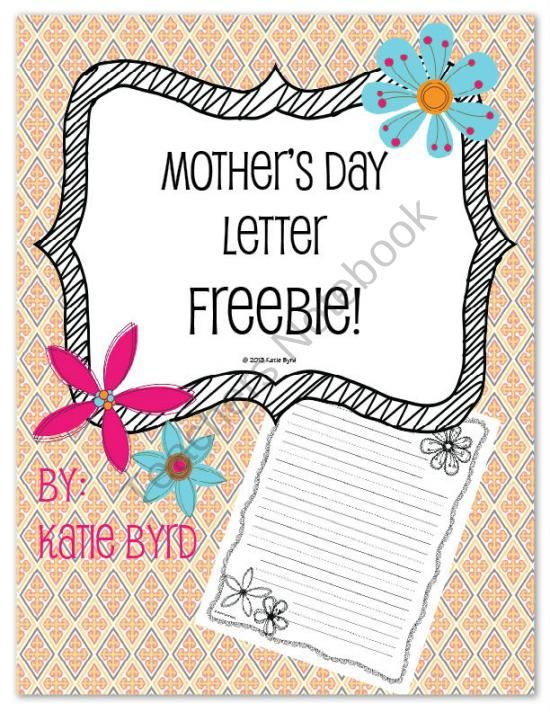 mother s day letter mothers day letter freebie from mrs byrds learning tree 23698 | 641bddb8bcf6995d2151f02d874be554