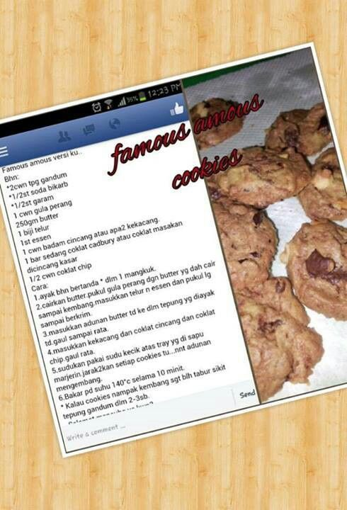 Famous amos cookies recipe blog