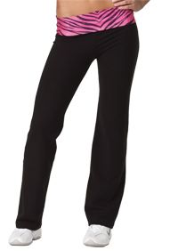 Pizzazz Black Yoga Pant