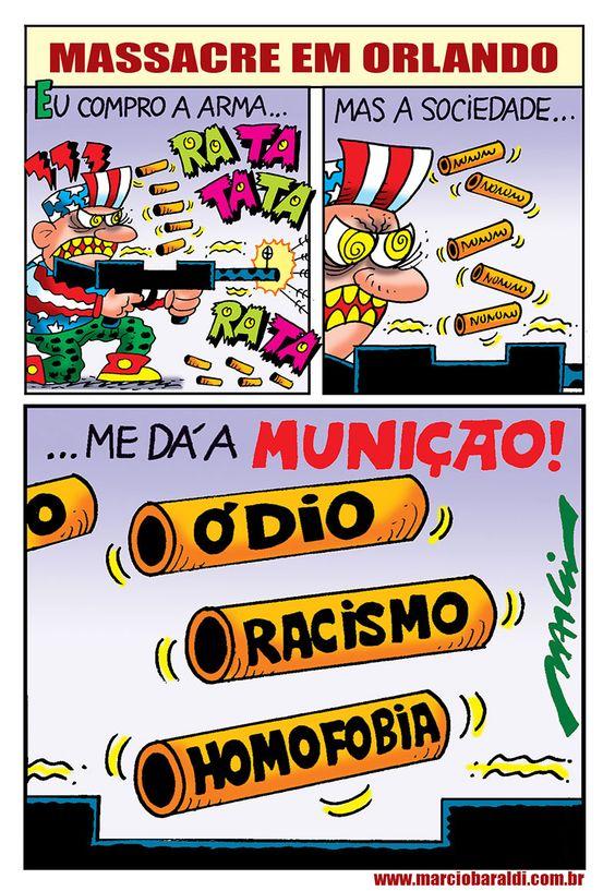 """Márcio Baraldi é conhecido como o """"cartunista mais rock'n'roll"""" do Brasil por sua especialidade em retratar o mundo roqueiro. Desenhista desde a infância, é o maior vencedor de um dos mais importantes prêmios do gênero no país, o Prêmio Angelo Agostini, em que ele já venceu como melhor cartunista. Confira mais do seu trabalho em …"""