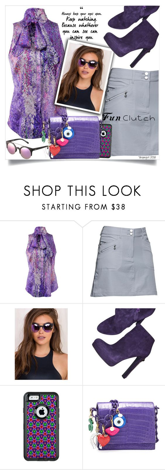 """""""Be inspired!"""" by vespagirl ❤ liked on Polyvore featuring L'Wren Scott, Daily Sports, Quay, Alexander McQueen, OtterBox and Nancy Gonzalez"""