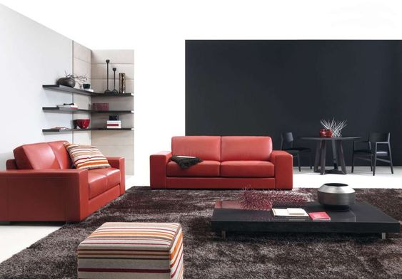 modern living room red20 modern living rooms with red couch and red sofa collection 4lxaoefn 20 Modern Living Rooms With Red Couch And Red S...