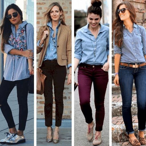 Wearing Business Casual Jeans- 21 Ways