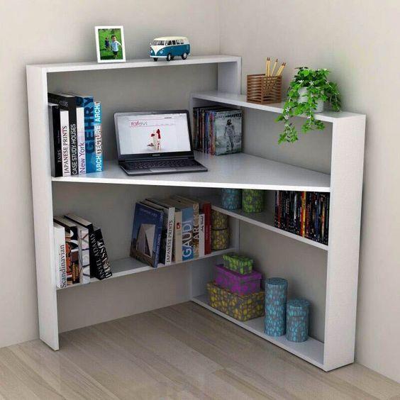 Practical Storage Tips In The Living Room Diy Corner Desk Home Diy Home Decor