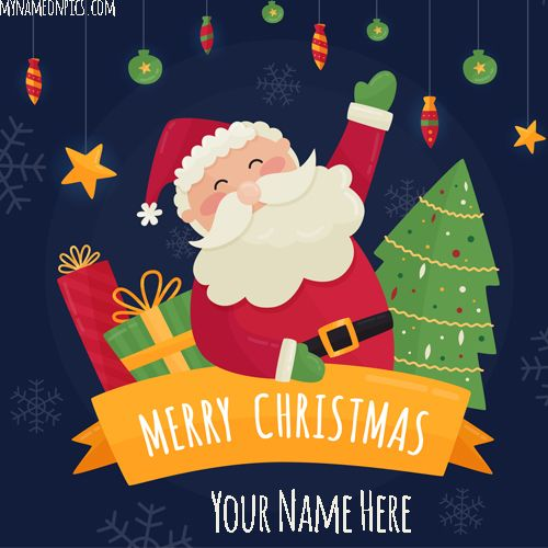 Are You Looking For Merry Xmas Tree Santa Claus 2018 Image With
