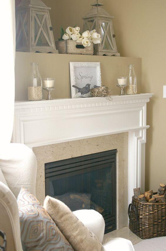 paint: huntington beige (benjamin moore) LOVE