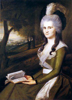 1789 Ralph Earl (1751-1801). Esther Boardman.